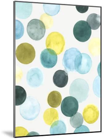Aquatic Orbit I-June Erica Vess-Mounted Art Print