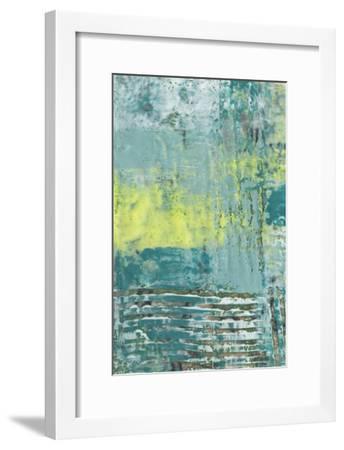 Linear Texture I-Jennifer Goldberger-Framed Art Print