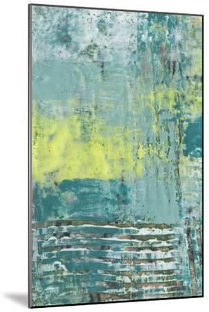 Linear Texture I-Jennifer Goldberger-Mounted Art Print