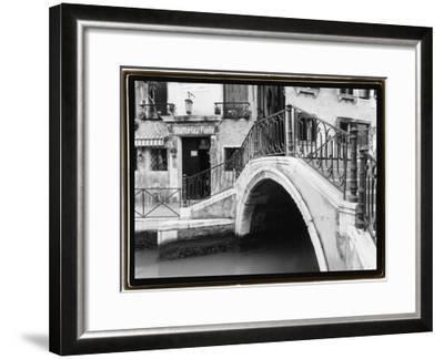 Hidden Passages, Venice II-Laura Denardo-Framed Art Print