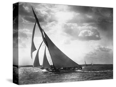 Sailing Yacht Mohawk at Sea--Stretched Canvas Print