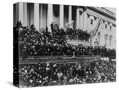 Second Inauguration of President Lincoln--Stretched Canvas Print