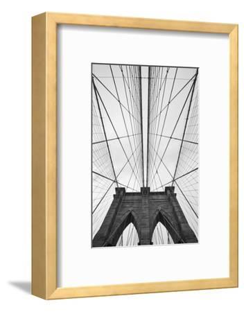 Brooklyn Bridge, New York City-Paul Souders-Framed Premium Photographic Print