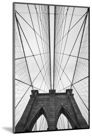 Brooklyn Bridge, New York City-Paul Souders-Mounted Premium Photographic Print