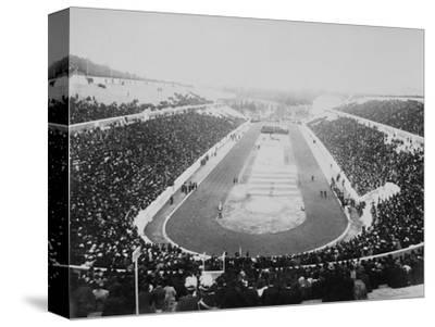 1896 Olympic Games in Athens--Stretched Canvas Print