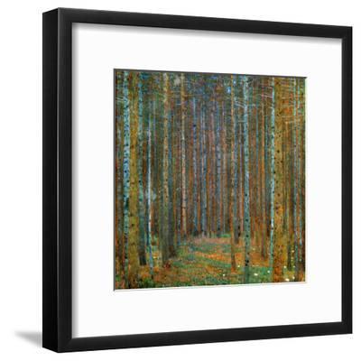 Tannenwald (Pine Forest), c.1902-Gustav Klimt-Framed Art Print