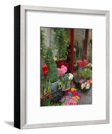 Florist in Ile St. Louis, Paris, France-Lisa S^ Engelbrecht-Framed Photographic Print