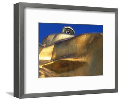 The Experience Music Project, Seattle, Washington, USA-William Sutton-Framed Photographic Print