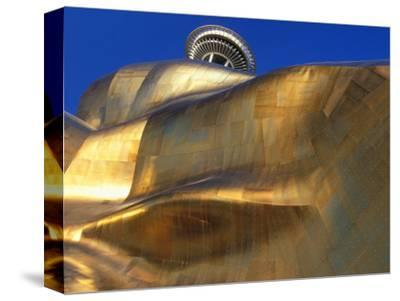 The Experience Music Project, Seattle, Washington, USA-William Sutton-Stretched Canvas Print