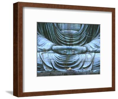 Great Buddha Detail, Kotokuji Temple, Kamakura, Japan-Rob Tilley-Framed Photographic Print