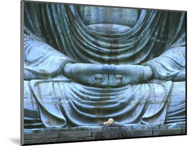 Great Buddha Detail, Kotokuji Temple, Kamakura, Japan-Rob Tilley-Mounted Photographic Print