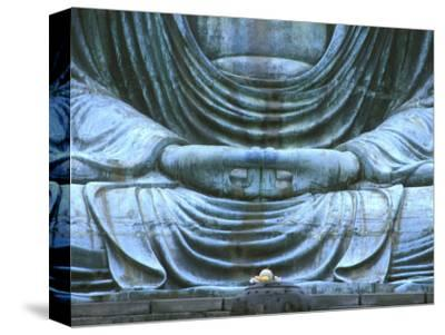 Great Buddha Detail, Kotokuji Temple, Kamakura, Japan-Rob Tilley-Stretched Canvas Print