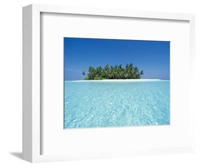 Uninhabited Tropical Island, Ari Atoll, Maldives-Stuart Westmoreland-Framed Photographic Print