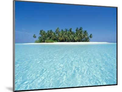 Uninhabited Tropical Island, Ari Atoll, Maldives-Stuart Westmoreland-Mounted Photographic Print
