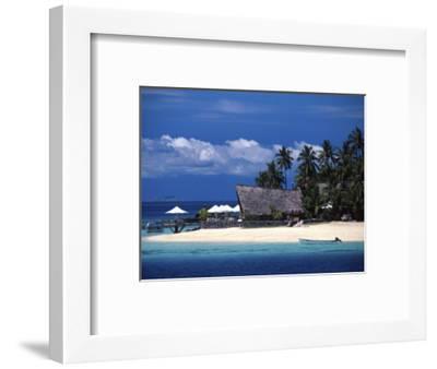 Castaway Island Resort, Mamanuca Islands, Fiji-David Wall-Framed Premium Photographic Print