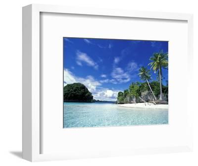 Bay of Honeymoon Island, World Heritage Site, Rock Islands, Palau-Stuart Westmoreland-Framed Photographic Print