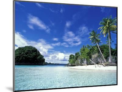 Bay of Honeymoon Island, World Heritage Site, Rock Islands, Palau-Stuart Westmoreland-Mounted Photographic Print
