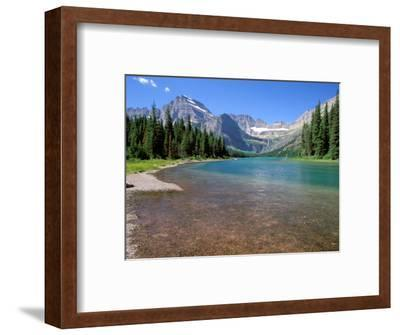 Lake Josephine with Grinnell Glacier and the Continental Divide, Glacier National Park, Montana-Jamie & Judy Wild-Framed Photographic Print