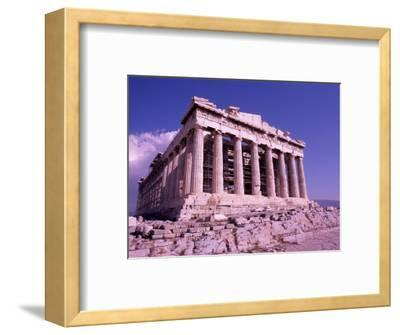 The Parthenon on the Acropolis, Ancient Greek Architecture, Athens, Greece-Bill Bachmann-Framed Photographic Print