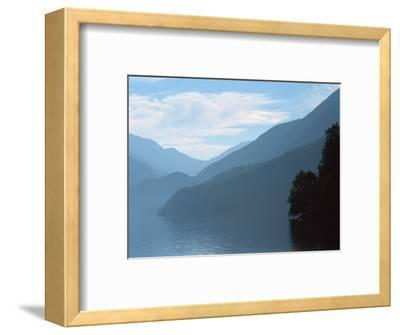 Lake Crescent in the Olympic Mountains, Washington, USA-Jerry Ginsberg-Framed Photographic Print