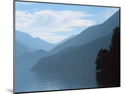 Lake Crescent in the Olympic Mountains, Washington, USA-Jerry Ginsberg-Mounted Photographic Print