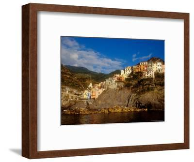 View of Manarola, Cinque Terre, Italy-Alison Jones-Framed Photographic Print