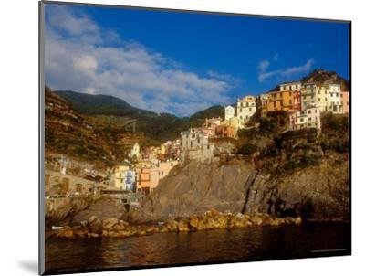 View of Manarola, Cinque Terre, Italy-Alison Jones-Mounted Photographic Print
