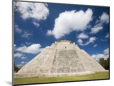 The Pyramid of The Magician, Uxmal, Yucatan, Mexico-Julie Eggers-Mounted Photographic Print