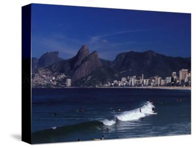 Praia De Ipanema, Rio De Janeiro, Brazil-Julie Bendlin-Stretched Canvas Print