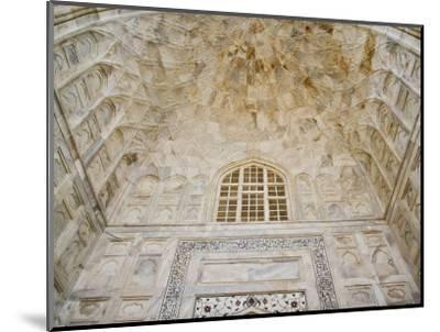 Architectural details, Taj Mahal, Agra, India-Adam Jones-Mounted Photographic Print