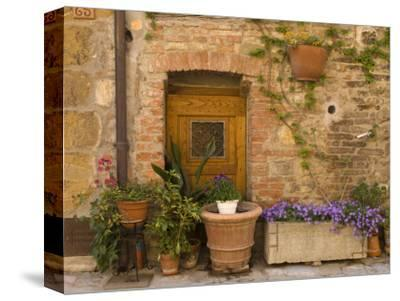 Montefollonico, Val D'Orcia, Siena Province, Tuscany, Italy-Sergio Pitamitz-Stretched Canvas Print
