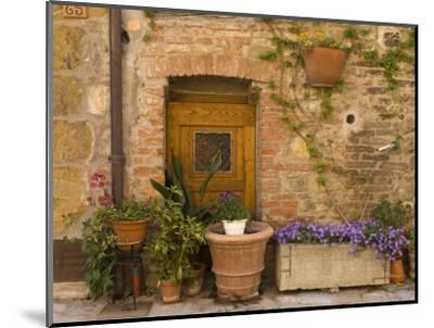 Montefollonico, Val D'Orcia, Siena Province, Tuscany, Italy-Sergio Pitamitz-Mounted Photographic Print