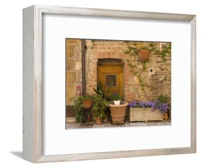 Montefollonico, Val D'Orcia, Siena Province, Tuscany, Italy-Sergio Pitamitz-Framed Photographic Print