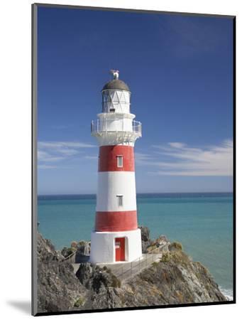 Historic Cape Palliser Lighthouse (1897), Wairarapa, North Island, New Zealand-David Wall-Mounted Photographic Print
