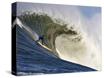 Mavericks Surf Competition 2010, Half Moon Bay, California, Usa-Rebecca Jackrel-Stretched Canvas Print
