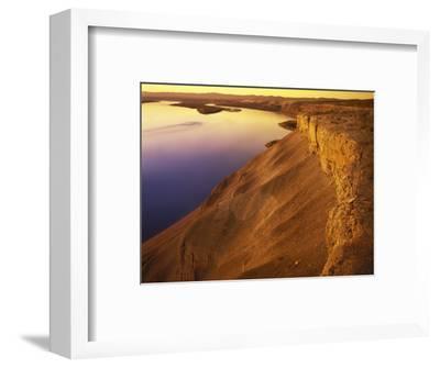 The Columbia River, Hanford Reach National Monument, Washington, USA-Charles Gurche-Framed Photographic Print