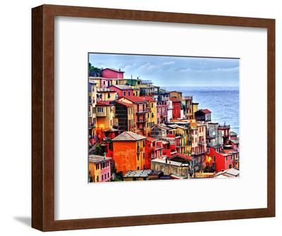 Scenes from Cinque Terra, Italy-Richard Duval-Framed Photographic Print