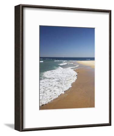 Nobbys Beach, Newcastle, New South Wales, Australia-David Wall-Framed Photographic Print