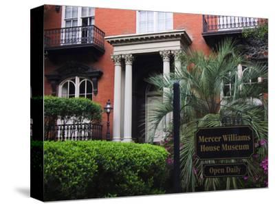 Mercer Williams House Museum, Savannah, Georgia, USA-Joanne Wells-Stretched Canvas Print