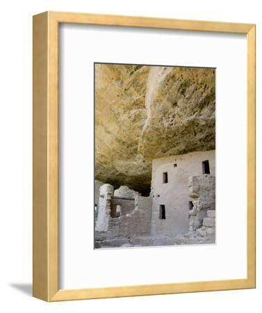 Spruce Tree House Ruins, Mesa Verde National Park, Colorado, USA-Cindy Miller Hopkins-Framed Photographic Print