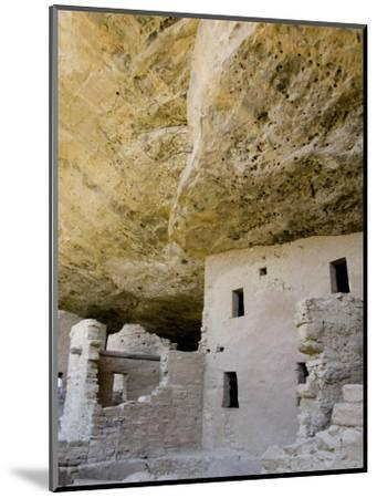 Spruce Tree House Ruins, Mesa Verde National Park, Colorado, USA-Cindy Miller Hopkins-Mounted Photographic Print