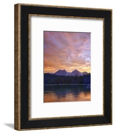 Redfish Lake, Sawtooth National Recreation Area, Idaho, USA-Jamie & Judy Wild-Framed Photographic Print
