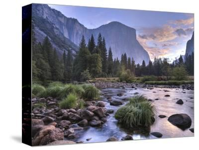 Early Sunrise, Yosemite, California, USA-Tom Norring-Stretched Canvas Print