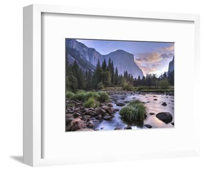 Early Sunrise, Yosemite, California, USA-Tom Norring-Framed Photographic Print