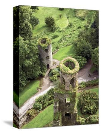 High Angle View of Towers, Blarney Castle, County Cork, Ireland-Miva Stock-Stretched Canvas Print