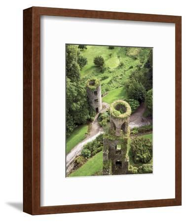 High Angle View of Towers, Blarney Castle, County Cork, Ireland-Miva Stock-Framed Photographic Print