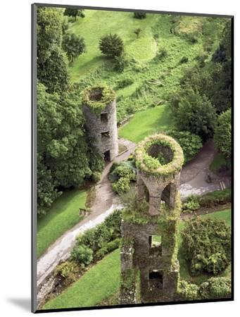 High Angle View of Towers, Blarney Castle, County Cork, Ireland-Miva Stock-Mounted Photographic Print
