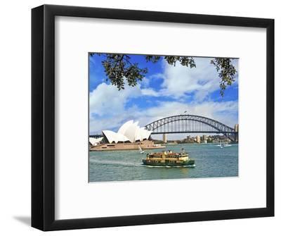 Sydney Opera House, Sydney, New South Wales, Australia-Miva Stock-Framed Photographic Print