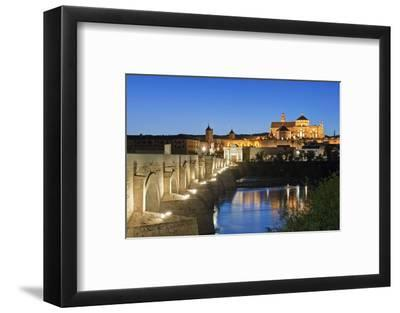 Roman Bridge, Catedral Mosque of Cordoba, Cordoba, Andalucia, Spain-Rob Tilley-Framed Photographic Print