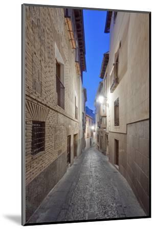 Historic District Alley at Dawn, Toledo, Spain-Rob Tilley-Mounted Photographic Print